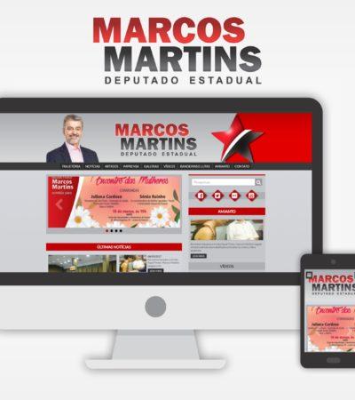 Deputado Estadual Marcos Martins