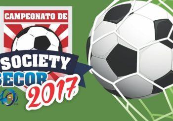 Grande final do Campeonato de Society SECOR 2017 acontece nesse domingo