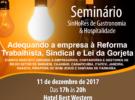 SinHoRes Osasco – Alphaville e Região realiza 1º Seminário de Gastronomia & Hospitalidade em dezembro